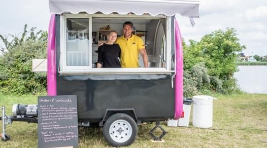 Foodtruck i Strandparken